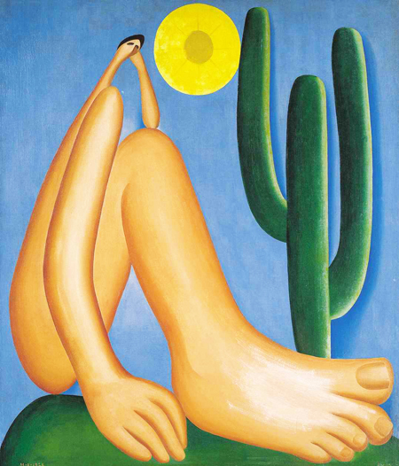 Tela de Tarsila do Amaral